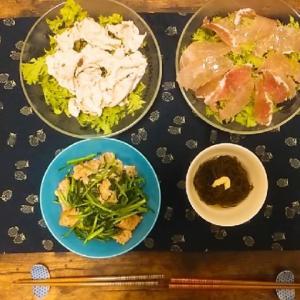 【食レポ】わさび菜ごはんと近況報告