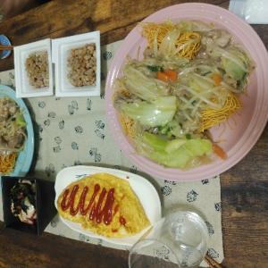 【食レポ】かた焼きそばとケチャップ事件