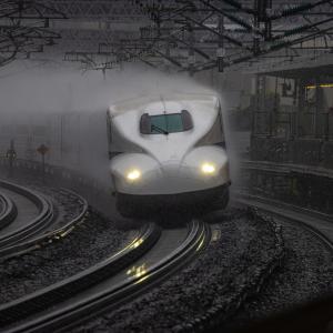雨の新幹線を撮りに行く!