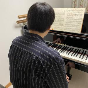 本日、息子ピアノ ブルグミュラー 「別れ」動画あり