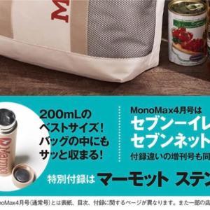 リトルミイのミニボトルが雑誌ステディの付録になっててかわいい♪スプリングはミルクフェドだしモノマックスはマーモット