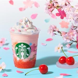 【スタバ新商品】桜シリーズ第2弾はさくらさくらんぼフラペチーノ!