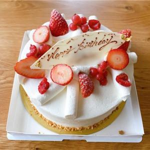 目白の有名なパティスリー エーグルドゥースでバースデーケーキを購入