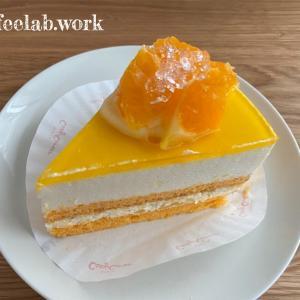 コージーコーナーの柑橘×クリームチーズのケーキが美味しすぎた