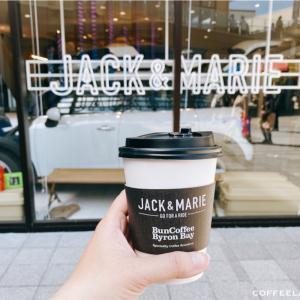 バンコーヒーでフラットホワイトをテイクアウト@南町田グランベリーパーク