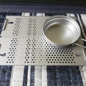 【ミニマリストのソロキャンプ道具】ミニテーブルはスノーピークの「テーブルオゼンライト」で決まり!