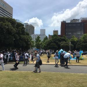 【ポケモンGO】灼熱の横浜リアルイベントを全力で日陰に隠れ続けてプレイしてきた ~感想編~