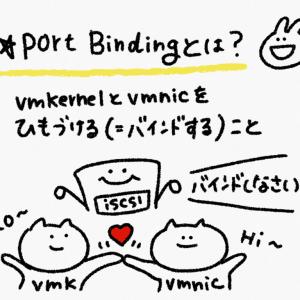 iSCSI Port Bindingについて