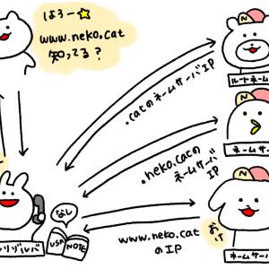 DNSの仕組みについてまとめてみた