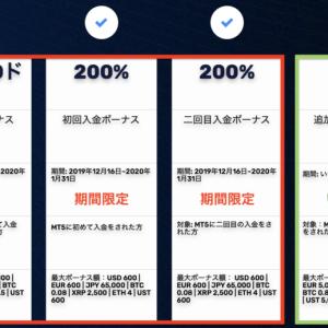 FXGTのボーナス徹底解説!新規口座開設10000円ボーナスや200%入金ボーナスについて