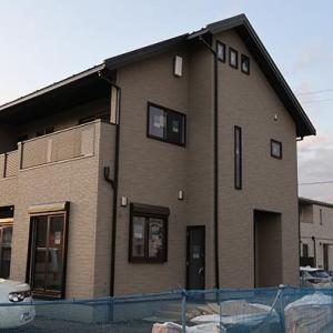田舎でゼロから始まる新築一戸建が完成目前、今週はクロス貼り