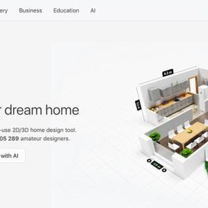 自由設計の間取をシミュレーションアプリ、「Planner5D」で再現
