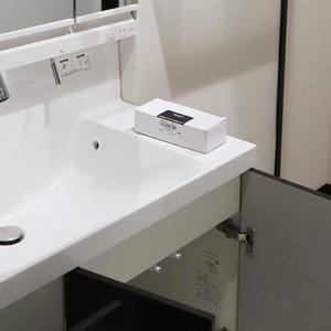 我が家は1階のスペースがほぼLDKで2階にメインの洗面所を設けた