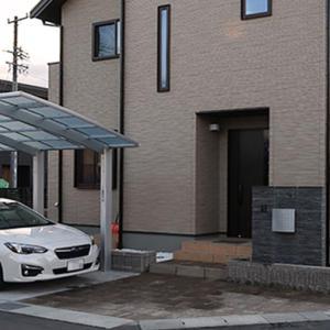 長野県で建てた「ゼロから始まる田舎の新築一戸建」の外構が完成