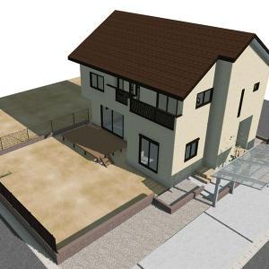 「ゼロから始まる田舎の新築一戸建」着工から完成まで工事
