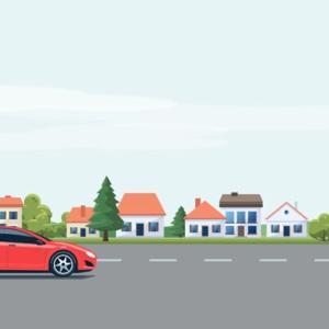田舎で新築一軒家を建てるなら家の前の道路幅も注意しましょう