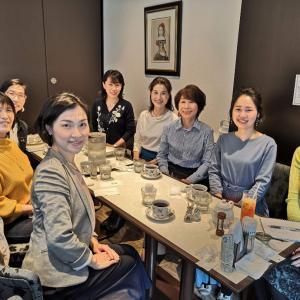 【女性起業家のためのコミュニケーションお茶会】