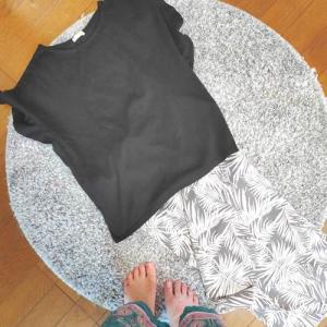 【衣】夏のモノトーンプチプラコーデ