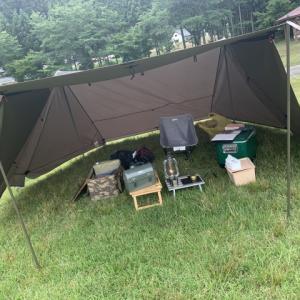 何回みても軍幕テントかっこいいですわ