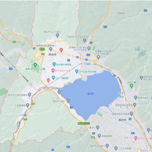 諏訪地域に属する岡谷市について
