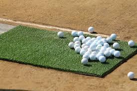 ゴルフ練習できません