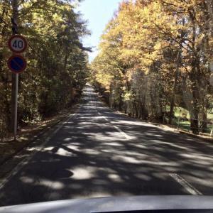 浅間山と軽井沢タリアセン