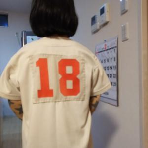 練習着の背番号