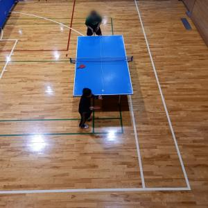 コロ♀兄の卓球41 今年度初の大会