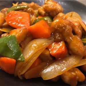 【揚げない酢豚ならぬ酢鶏】家にある調味料ですぐ作れる!【簡単レシピ】