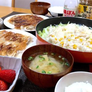 豆腐でふんわり【手作りしゅうまい】とギョウザ~中華な晩ごはん~
