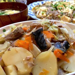 【サバ缶でちゃんちゃん焼き風】レンジで時短♪野菜たっぷり【簡単レシピ】
