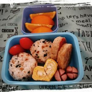 夏休み 幼稚園のお弁当と旦那弁