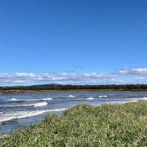 石狩本町から河口まで はまなすの丘公園をめぐるみち(7.3km)  (2) 〜 石狩海岸フットパス 北海道石狩市〜
