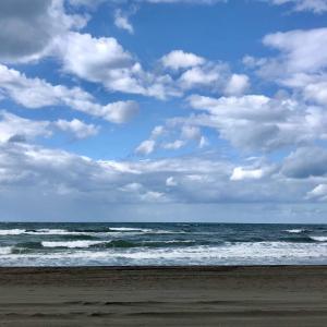初秋、浜辺でのコーヒーは美味しかった… 〜時間を忘れてボーッと一息〜