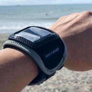 Apple Watchをプールで使いたい!?保護プロテクター「Watchsuit」が新素材・新色をテスト中!?