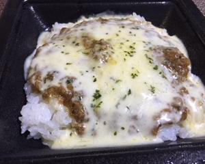チーズ乗せキーマカレーが美味しかった!