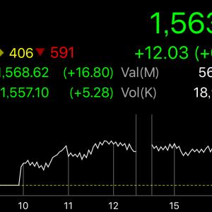 【タイ株】香港に追随のタイSET指数-EU離脱か否かの投票前に利確で逃げるサラリーマン投資家-