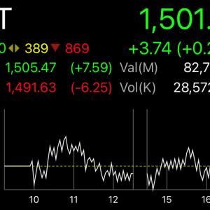 赤と緑じゃ大違いのタイ株