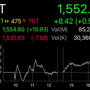 ロックダウンかカーフューか知らんけどとりあえず上昇のタイ株