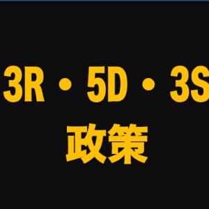 3R・5D・3S政策