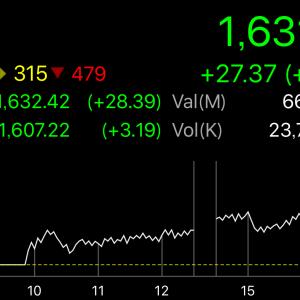 タイSET指数は上がっても保有株はそれほど上がらない件