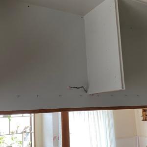 キッチンの壁をぶち抜いてみた その5