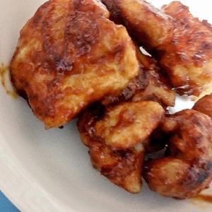 甘辛しっとり鶏むね肉のケチャップ風味-鬱ニートのズボラ飯