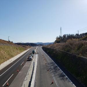 館山道(富津中央-富津竹岡)4車線化もうすぐです