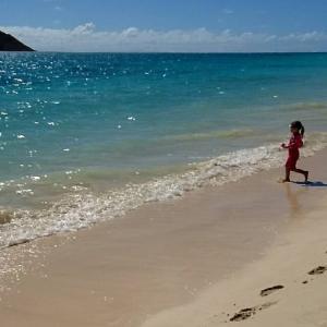 泳がなくても幸せなハワイ♥1995