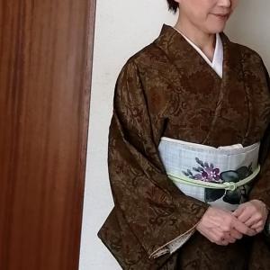 オール手抜きで着物着る~紬縮緬に名古屋帯
