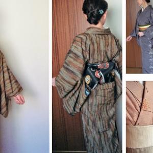 60代の秋冬着物~9月から12月の単衣と袷着物2019年の画像まとめ