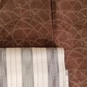 麻の帯に単衣と盛夏の着物コ―デ12選