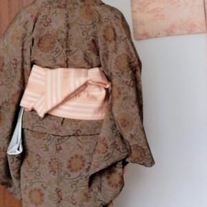 ふだん着物、稽古着物は「うそつき」三昧、付け袖付け衿
