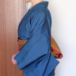 今季初めの単衣着物♪羽織ものと今日の着付け道具